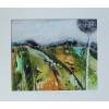 A View From The Hill, In Grey And Green - Limited Edition Print