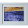 Hook, In Purple And Gold - Limited Edition Print of an original painting