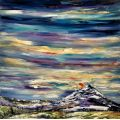 First snows - A Winter Sunset