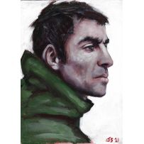 Liam Gallagher Canvas Painting