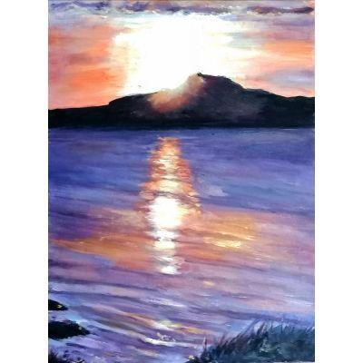 West Kerry autumn sunset: Binn Hanrai