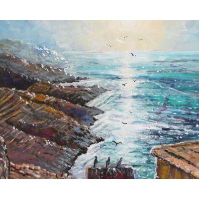 Cliffs at Folegandros Greece
