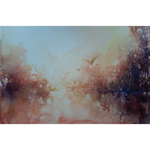 * Autumn inspiration series / Watercolour painting