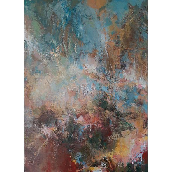 * Autumn magic / Original abstract painting