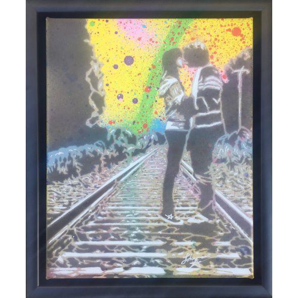Teenage Kicks - Yellow Abstract