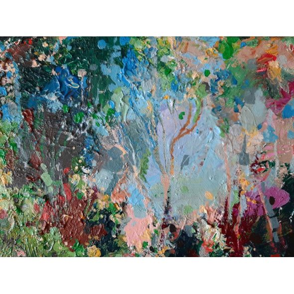 * Forest Magic / Original Abstract Painting