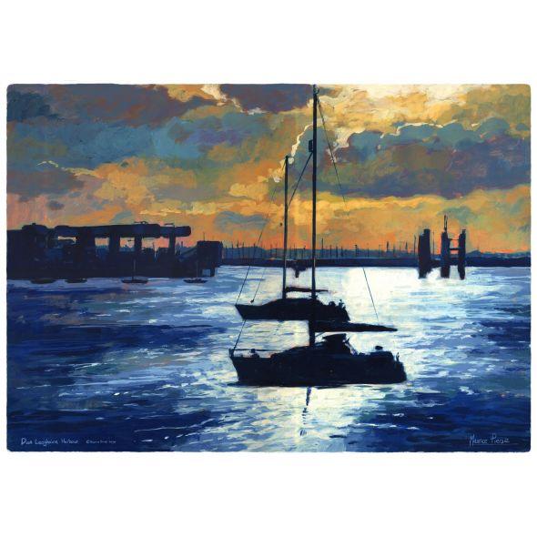 Dun Laoghaire Harbour Print