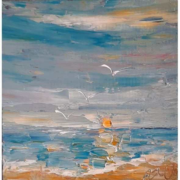 Seagull's Sunrise