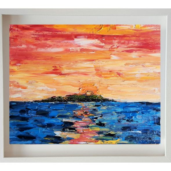 Sunrise Delight Dalkey Island