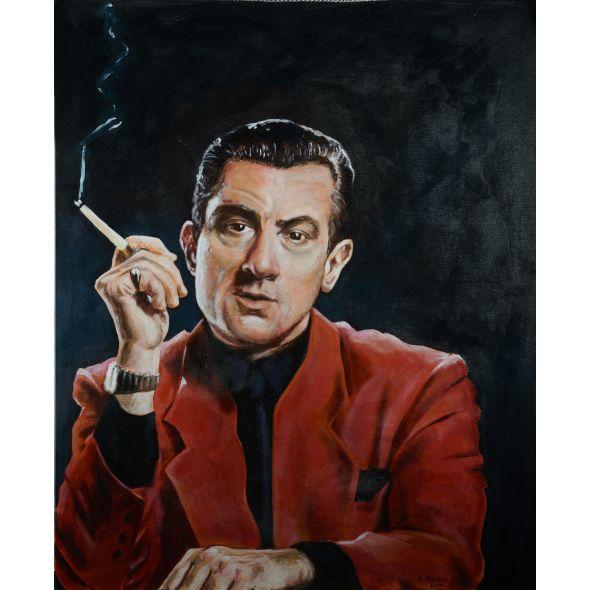 Robert De Niro in Casino Painting