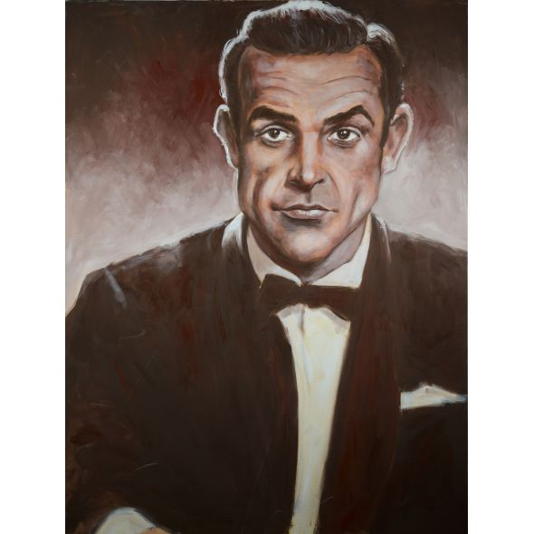 James Bond / Sean Connery Painting