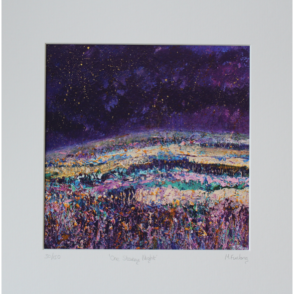 One Starry Night - Limited Edition Print