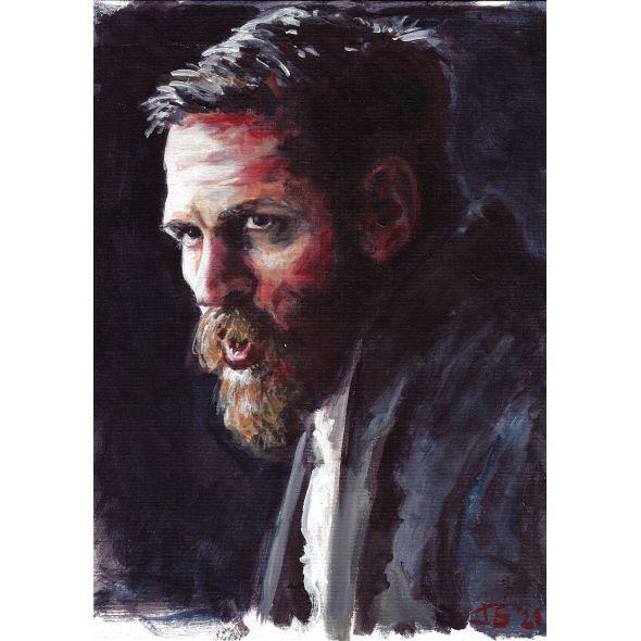 Tom Hardy Painting