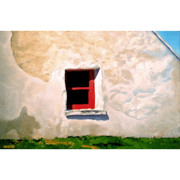 Window on Inishmore