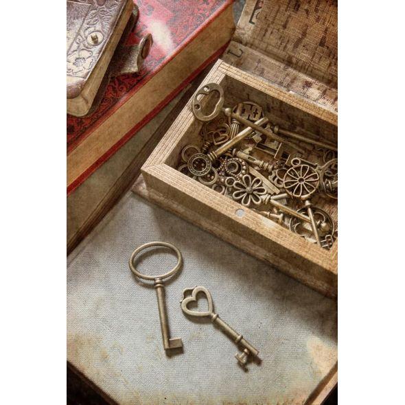 The box of keys